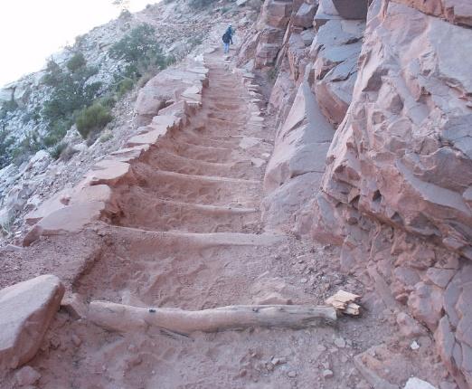 Rugged Trail Steps